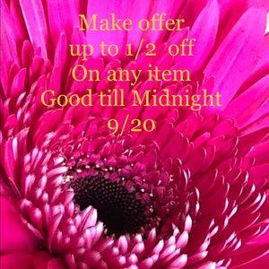 ❤️Sale till Midnight-Make an offer❤️